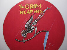 WWII US NAVY VF-10 GRIM REAPERS PAINTED LEATHER FLIGHT JACKET PATCH