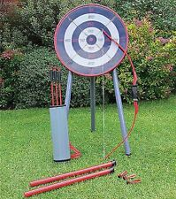 OUTDOOR GARDEN ARCHERY SET BOW & ARROW BLOW PIPE AND DARTS KIT KIDS TOY GAME