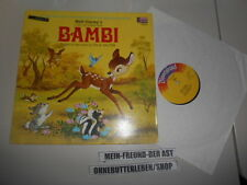 LP Kinder Walt Disney Bambi Story+Songs DISNEYLAND