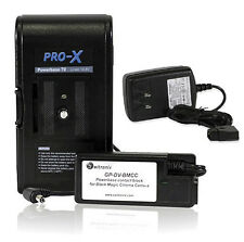 Switronix Powerbase-70 Battery Pack + Charger for Blackmagic Cinema Camera Kit