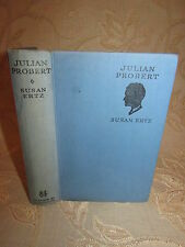 Antique Collectable Book Of Julian Probert, By Susan Ertz - 1933