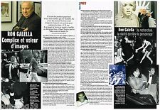 Coupure de presse Clipping 2006 (2 pages) Ron Galella