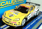 SCALEXTRIC C3390 CHEVROLET CORVETTE C6R WITH LIGHTS DPR 1/32 SLOT CAR DPR READY