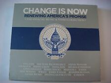2x CD: Change Is Now: Sheryl Crow,BARACK OBAMA,Stevie Wonder,James Taylor,Usher+