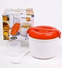 NEW microwave rice cooker with lid  D.Line Microwave Rice Cooker FREE POST