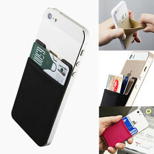 Sinjimoru Sinji Pouch B2 Pocket Stick-on Card Holder for all Smart Phones BLACK