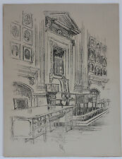 JOSEPH PENNELL, INDEPENDENCE HALL LITHOGRAPH