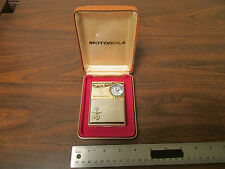 Motorola X-21 Vintage Transistor Radio With Case