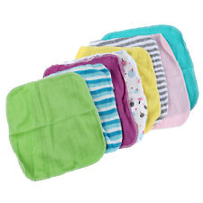 Sunny Baby Face Washers Hand Towels Cotton Wipe Wash Cloth 8pcs/Pack