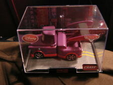 Disney Pixar Cars 2 DISNEY STORE CHASE  PURPLE TOKYO MATER  W/ DISPLAY
