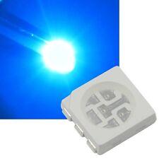 50 blaue 5050 SMD LEDs, 3-Chip / PLCC6 HIGHPOWER blau blue bleu azul Led Smds