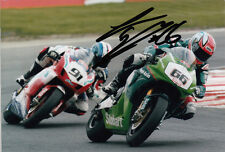 Tom Sykes Hand Signed Stobart Vent-Axia Honda 6x4 Photo BSB 1.