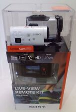 Brand New Sony HDR-AZ1VR HD Action Camera Mini Kit With Live View Remote Watch