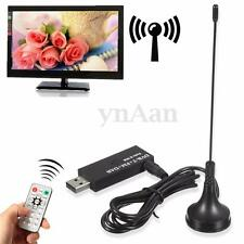 Digital DVB-T ISDB-T HDTV TV Tuner Stick Receiver Recorder Antenna FM DAB SDR