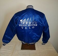 "VTG ""Westchester Velo""  Nylon Insulated Jacket Game Sportswear USA Sz Large"