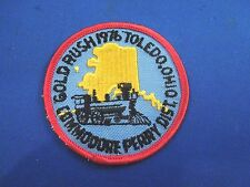 Vintage Gold Rush 1976 Toledo Ohio Commodore Perry Dist. Train Alaska Img Patch