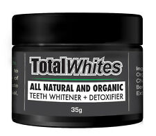 Total Whites Activated Charcoal Tooth and Gum Powder Teeth Whitening 100ml