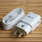 Original OEM USB Type-C Charger Cable Travel Adapter For LG G5 & Google Nexus 5X