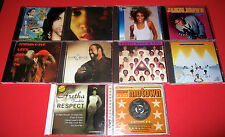 10 MUSIC CD R&B FUNK POP- PRINCE/ LENNY KRAVITZ/ JAMES BROWN/ EARTH WIND & FIRE