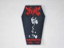 MAYHEM EURONYMOUS 1968-1993 BLACK METAL EMBROIDERED PATCH