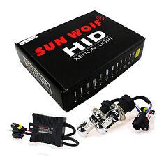 Genuine Sun Woif 12V 55W BI-XENON HID H4-3 HI/LO 8000K Kit Headlights Head Lamps