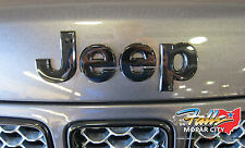 2013-2017 Jeep Grand Cherokee Black Replacement Hood Nameplate Emblem Mopar OEM