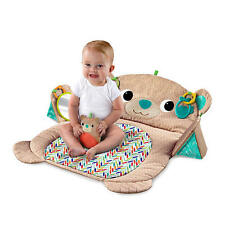Baby Bear Mat Bed Toddler Safe Mirror Plush Floor Crawling Gym Play Activity Toy