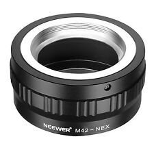Neewer Adjustable M42 Screw Lens to Sony NEX E-Mount Camera Mount Adapter UD#20