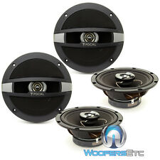 "2 PAIRS FOCAL AUDITOR R-165C 6.5"" COAXIALS CAR SPEAKERS BUILT IN TWEETERS NEW"