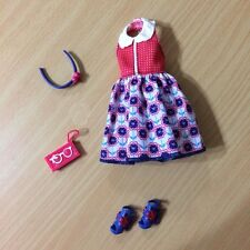 Barbie Life In The Dreamhouse Midge Doll Cloth Outfit Shoe Red Navy Blue