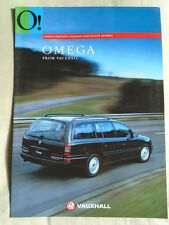 Vauxhall Omega Edition S Saloon & Estate Models brochure Apr 1994