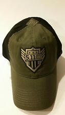511 Tactical Wear Baseball Hat Cap 100% Cotton Adjustable 2015 Green/Black