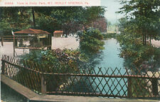 Mt. Holly Springs PA * View in Holly Park  ca 1908 * Cumberland Co.