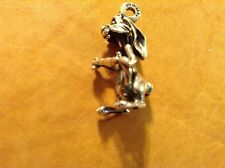 Sterling Silver Disney Bunny Rabbit Moving Ears Charm Winnie The Pooh Carrot