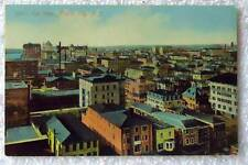 POSTCARD DAYLIGHT BIRDS EYE VIEW OF ATLANTIC CITY NEW JERSEY #777