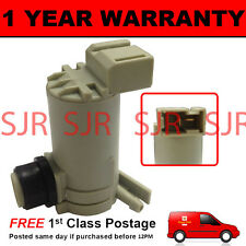 FOR NISSAN X-TRAIL XTRAIL 2001-2003 FRONT SINGLE OUTLET WINDOW WASHER FLUID PUMP