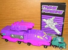 Transformers G1 Micromasters Decepticon Cannon Transport mit Anleitung