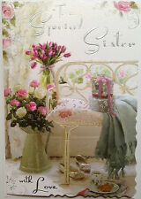 Birthday Card Special Sister ~ Happy Birthday Sister Card ~ Lovely Verse