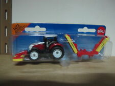 Steyr farm tractor pottinger mower combination toy car 1/87 siku 1672