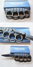 COLD STEEL Knife Pisau Lipat 2 in1 Istimewa Bahan Padat Model