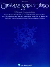 Christmas Solos for Piano Sheet Music Piano Solo Songbook NEW 000310330