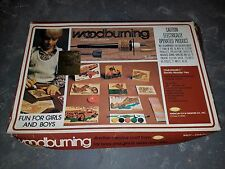 Vintage New in Box ATF Woodburning Set Model W103T Challenger I Complete Rare