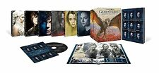 GAME OF THRONES 1-6 KOMPLETTE STAFFEL 1 2 3 4 5 6 DVD FOTOBUCH DIGIPACK BONUS CD