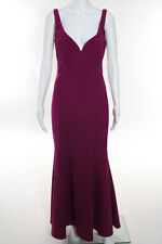 Nicole Miller Magenta Full Heart Gown Size 6 New $420 10230738