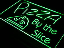 i306-g OPEN Pizza By The Slice Cafe Shop Neon Light Sign