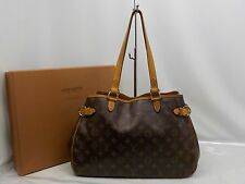 Auth Louis Vuitton Monogram Batignolles Horizontal Shoulder Tote Bag 6F210480N