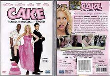 CAKE ti amo, ti mollo, ti sposo - DVD NUOVO SIGILLATO, PRIMA STAMPA, NO EDICOLA