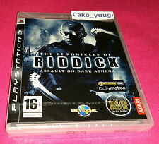 THE CHRONICLES OF RIDDICK ASSAULT ON DARK ATHENA SONY PS3 NEUF 100% FRANCAIS