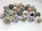 8 Mixed Set of Shabby Chic Ceramic Cupboard Kitchen Door Knob 'Slight Seconds'