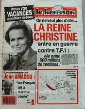 Marius l'épatant Le Hérisson n°2202 - 1988 - Christine Okrent - Michèle Torr